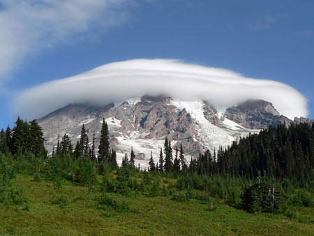 Photo of Mt. Rainier in Washington State, for story the Disclosure Chronicles by Joshua Shapiro