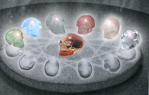 World Peace Meditations with the Crystal Skulls in 2012